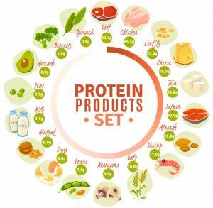 φαγητά πλούσια σε πρωτεΐνη