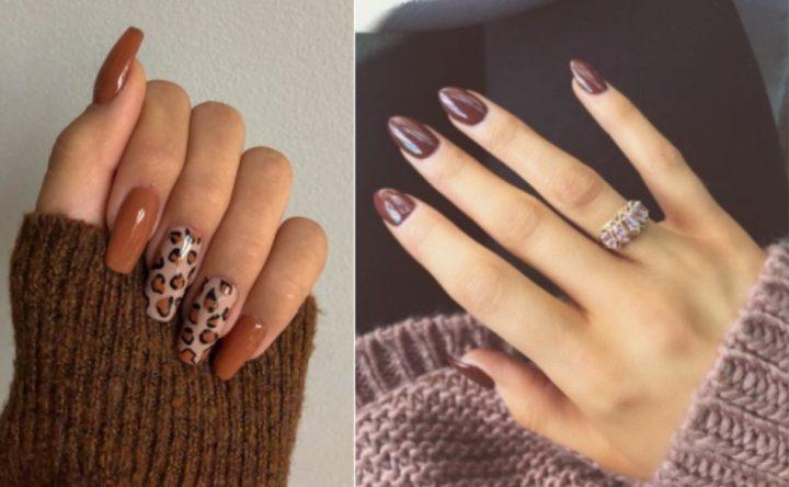 15 Πανέμορφες ιδέες για νύχια σε καφέ χρώμα!