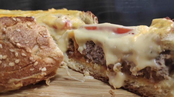Συνταγή για απολαυστικό καρβέλι cheeseburger!