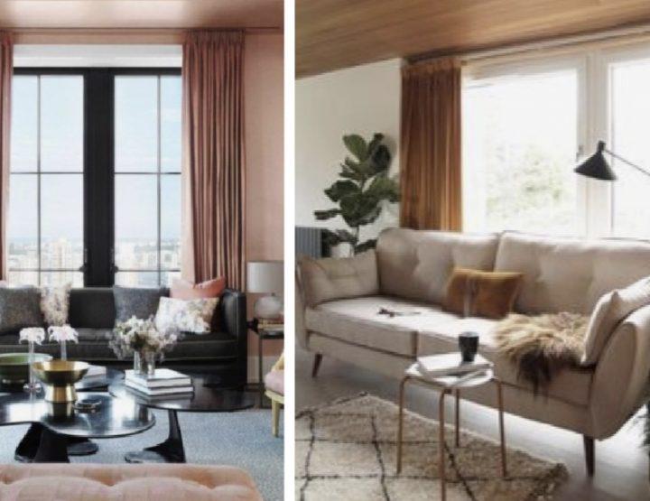 Πώς να διαλέξεις για το σαλόνι σου το σωστό χρώμα κουρτίνας!