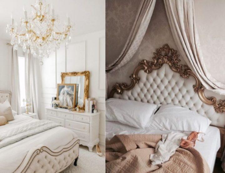 Διακόσμηση στο υπνοδωμάτιο σε νεοκλασσικό στυλ!