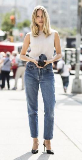 παντελόνι ίσιο μυτερές γόβες