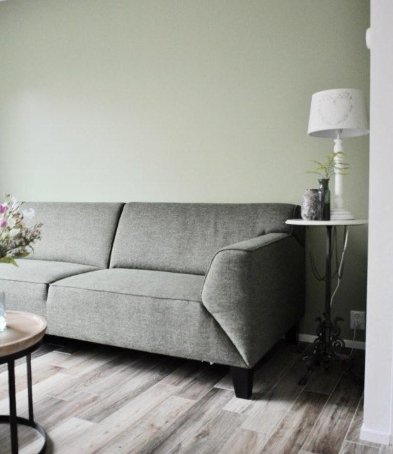 πράσινο γκρι σαλόνι