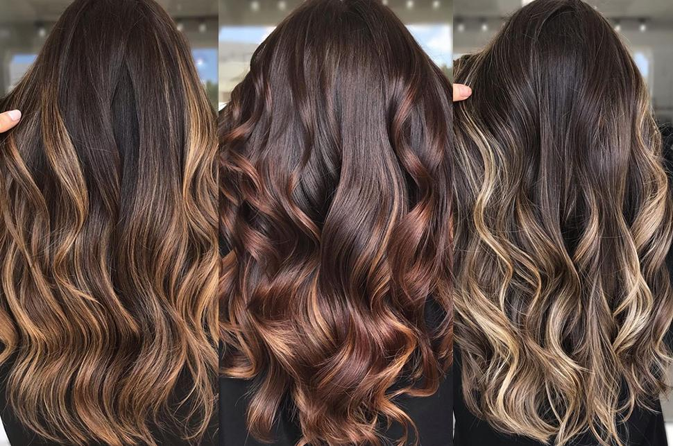 προτάσεις αλλαγής χρώματος μαλλιών για μελαχρινές