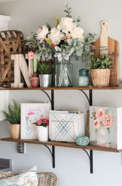 ράφια λουλούδια φυτά