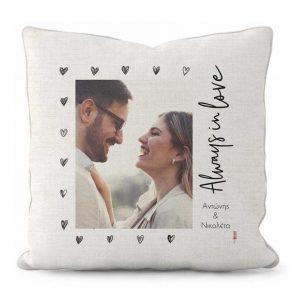 ρομαντικό δώρο μαξιλάρι