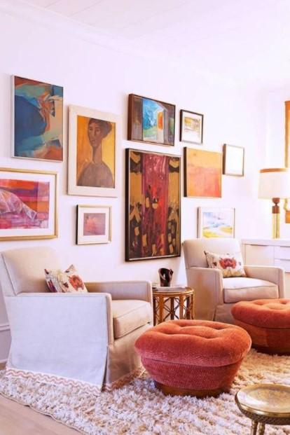 σαλόνι gallery wall
