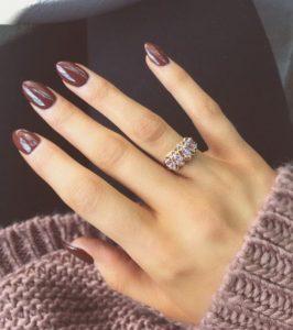 σοκολατί νύχια