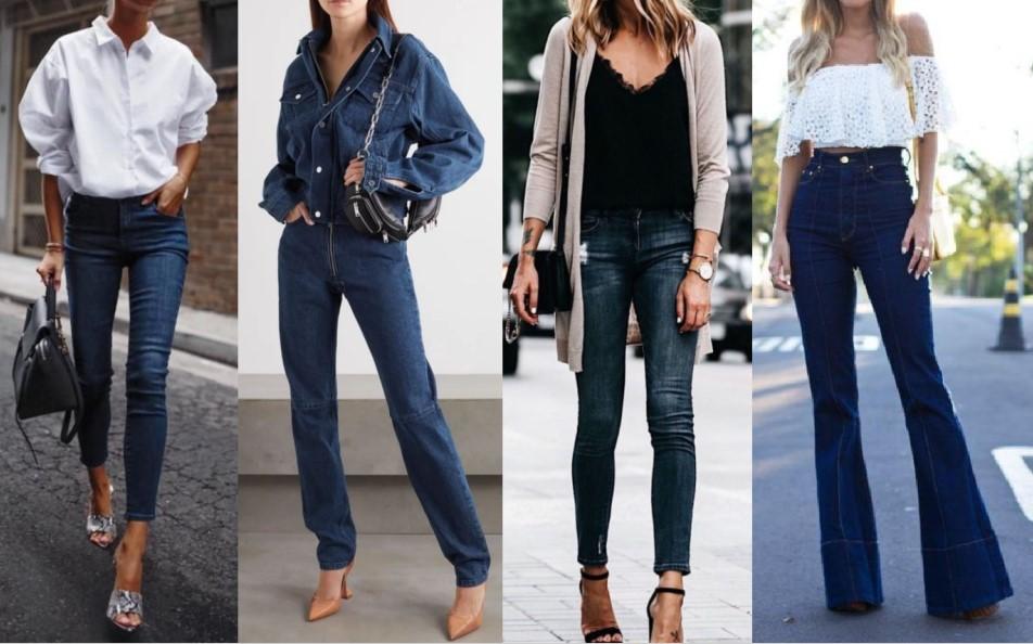 συνδυασμοί ρούχων με σκούρο τζιν παντελόνι