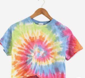 tie dye μπλουζα πολυχρωμη