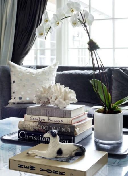 βιβλία τραπέζι ορχιδέα