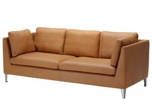 τριθέσιος καναπές από δέρμα