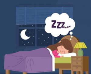 καρτούν κοιμάται ήρεμο