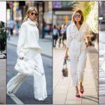 χειμωνιάτικο λευκό outfit
