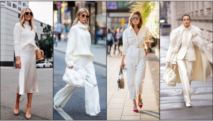 Κομψοί τρόποι να φορέσεις ένα χειμωνιάτικο λευκό outfit!
