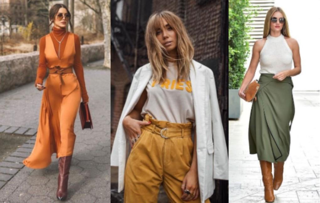 χρωματικοί συνδυασμοί για κομψό γυναικείο ντύσιμο