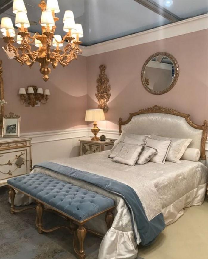 υπνοδωμάτιο σε vintage στυλ