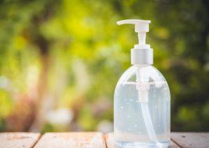 μπουκάλι με αντλία για λοσιόν για τα χέρια