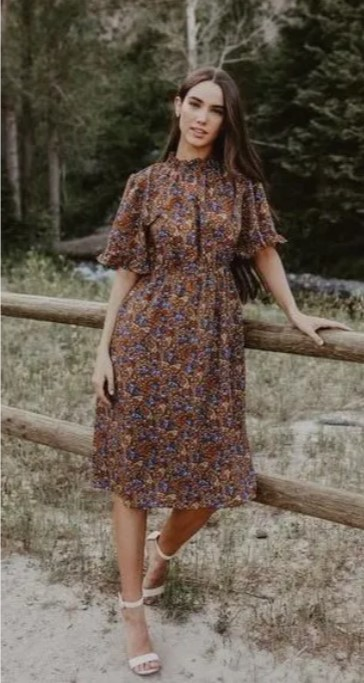 φόρεμα μπόχο κοντό