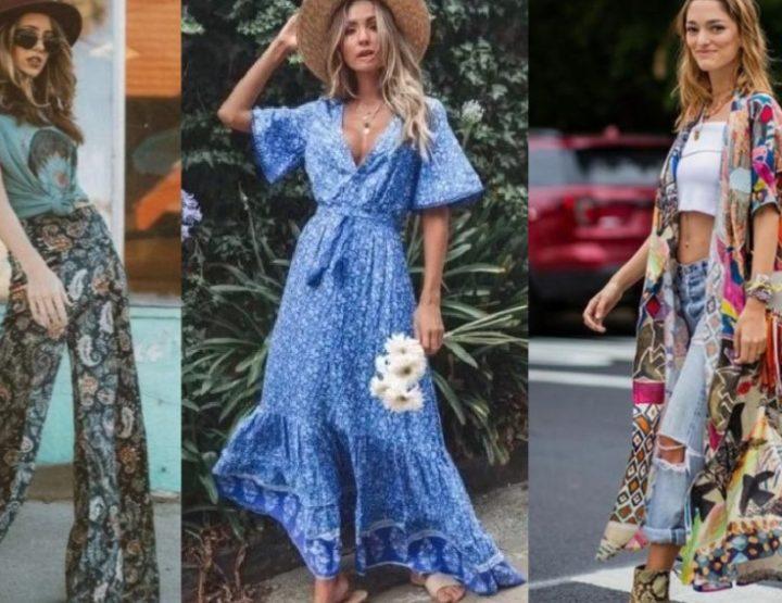 Στυλάτες ιδέες για boho ντύσιμο την άνοιξη του 2021