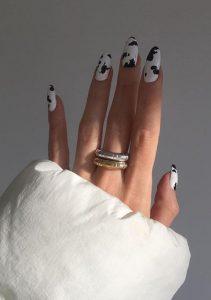 cow print νύχια