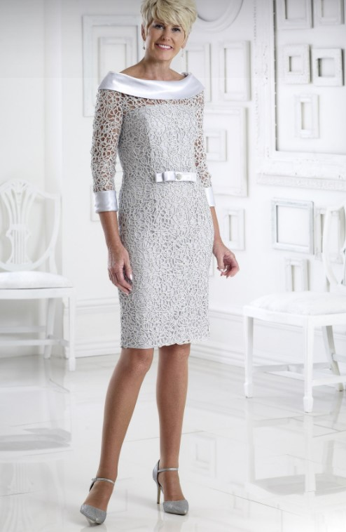 φόρεμα για μαμά νύφης σε δημαρχείο δαντέλα