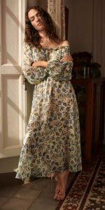 φορεμα μακρυ 2021 mango