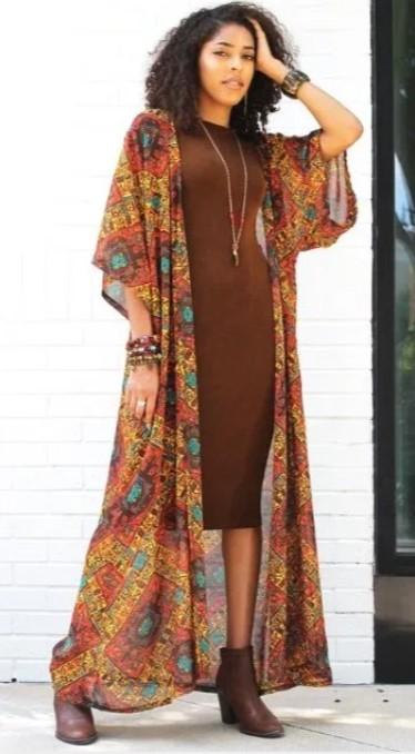 φόρεμα για boho ντύσιμο άνοιξη