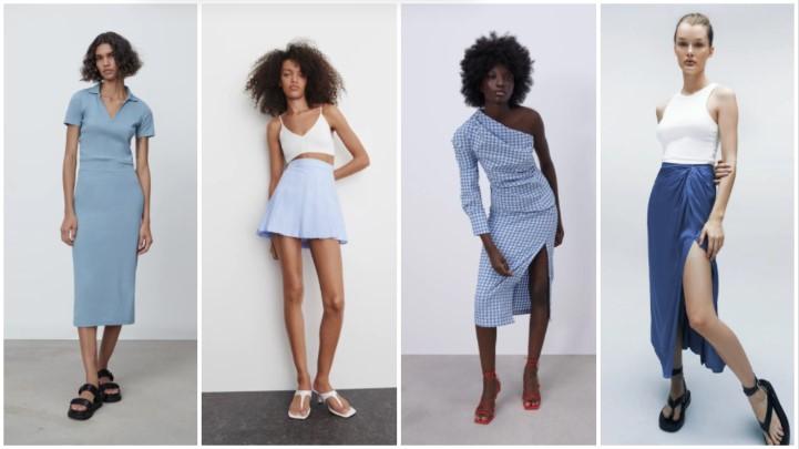 γαλάζιες φούστες