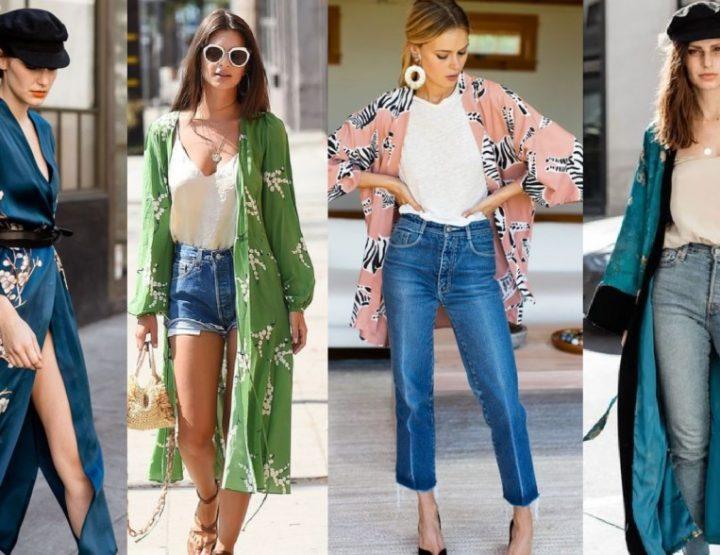 12 Μοντέρνες ιδέες ντυσίματος με κιμονό την άνοιξη!