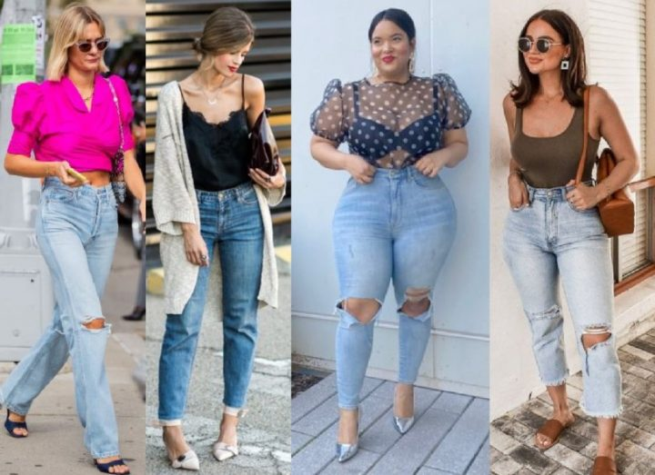 10 Καλοκαιρινοί συνδυασμοί με τζιν γυναικείο παντελόνι το 2021