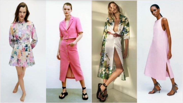 Καλοκαιρινά γυναικεία ρούχα Zara για το 2021