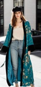 καθημερινό ντύσιμο με κιμονό