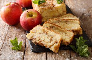 μηλοπιτα για νηστεια