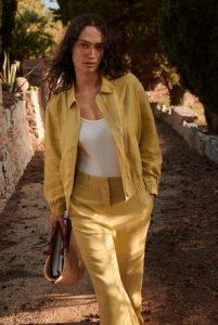 κιτρινο τζακετ καλοκαιρινο