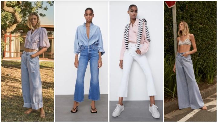 κλασικά jeans καλοκαιρινά ρούχα Zara 2021