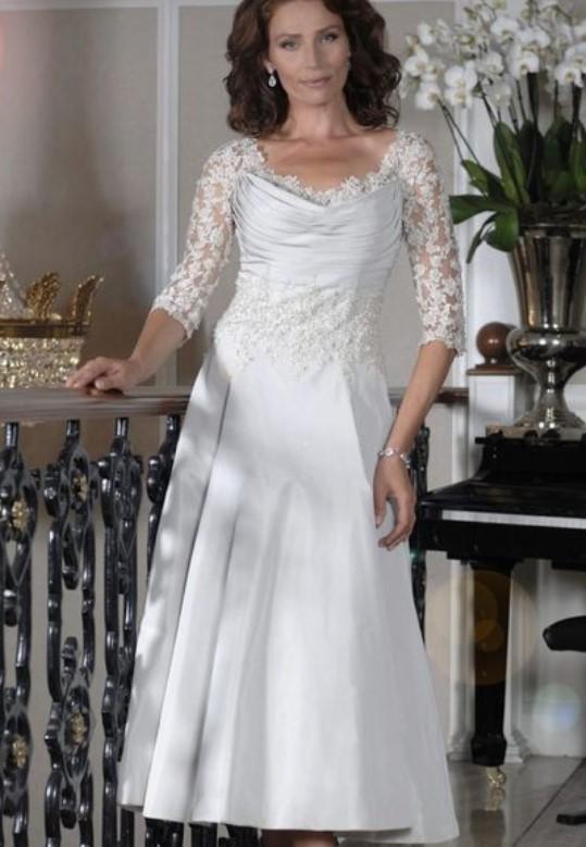 λευκό φόρεμα γραμμή Α