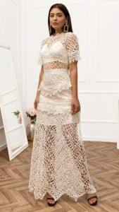 μάξι επίσημο φόρεμα