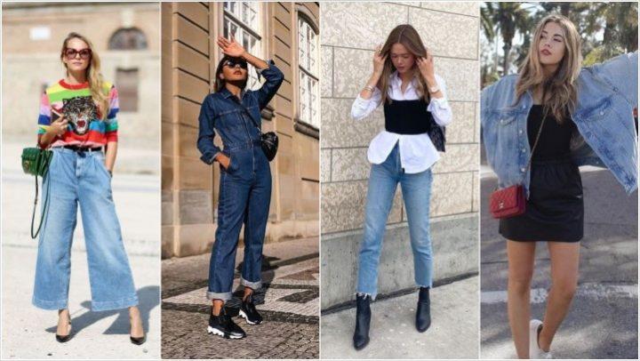 5 Μοντέρνα και στιλάτα outfits με τζιν κομμάτια!