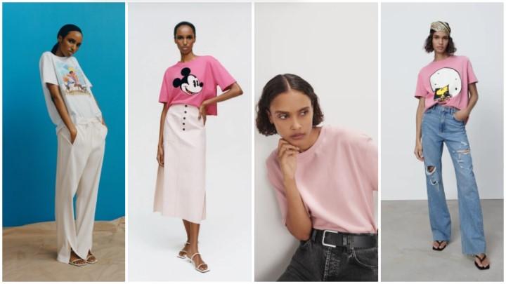 μπλουζάκια T-shirts καλοκαιρινά ρούχα Zara 2021