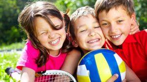 παιδια που κανουν αθλητικες δραστηριοτητες