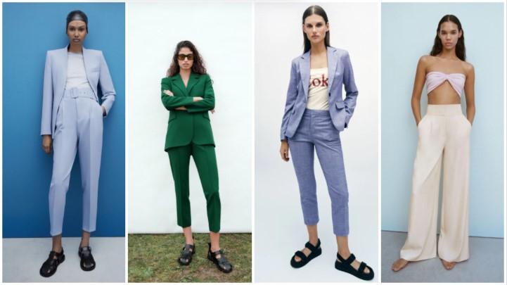 παντελόνια γραφείου καλοκαιρινά ρούχα Zara 2021