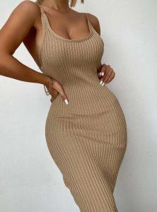 πένσιλ στενό φόρεμα