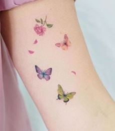 πεταλουδες τατουαζ