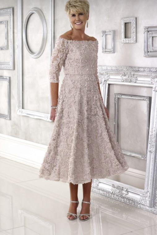 γραμμή α φόρεμα για μητέρα νύφης που παντρεύεται πολιτικό γάμο