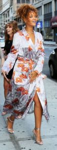 σατέν κιμονό φόρεμα