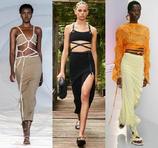 τάσεις μόδας γυναικεία ρούχα άνοιξη καλοκαίρι 2021