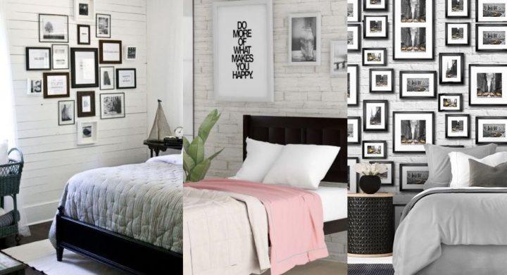 11 Υπέροχοι τρόποι να διακοσμήσεις κάδρα στο υπνοδωμάτιο!