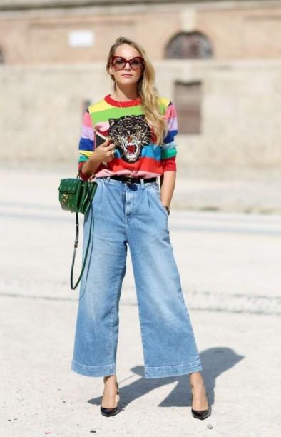 τζιν ζιπ κιλό T-shirt μοντέρνα outfits τζιν