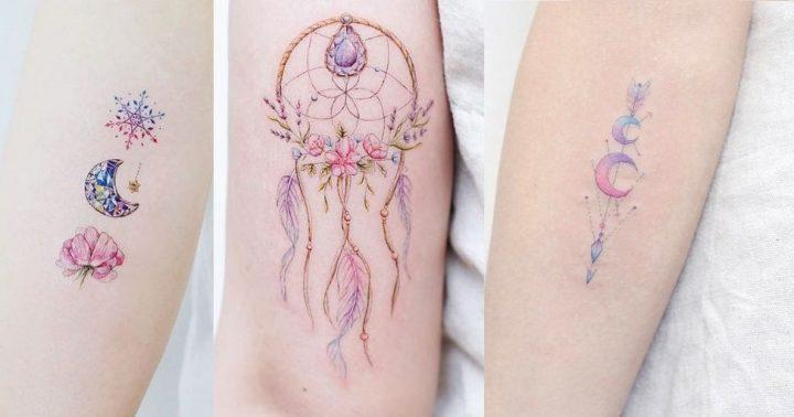 15 Πανέμορφα χρωματιστά τατουάζ χωρίς μαύρο μελάνι!